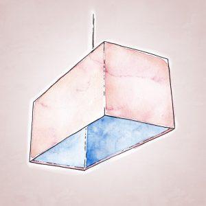 прямоугольный абажур изображение