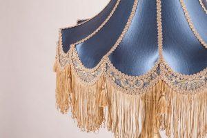 абажур дизайнерский на заказ из ткани