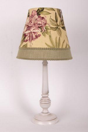 купить настольную лампу с цветочным принтом