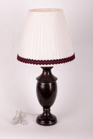 заказать настольную лампу с белым абажуром