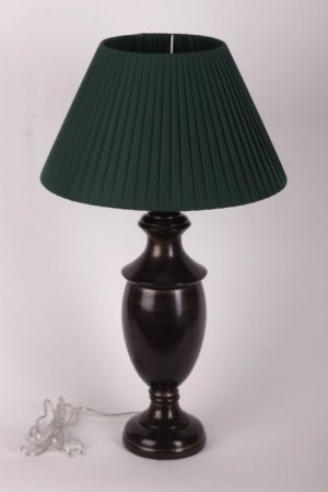 купить настольную лампу с зеленым абажуром