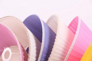 разные цвета классических абажуров