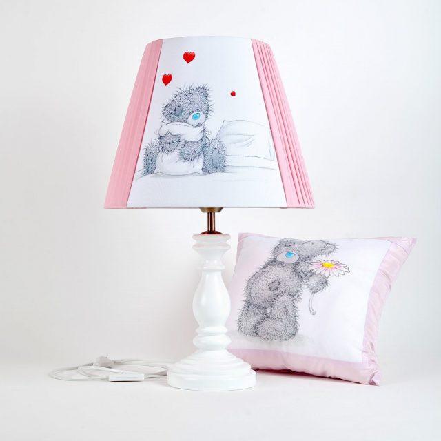 детская лампа с абажуром фотопринт