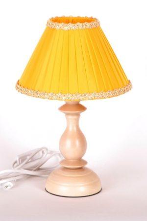 настольная лампа желтая