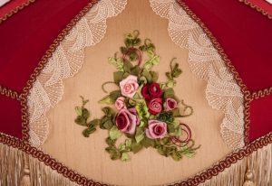 вышивка франузскими шелковыми лентами