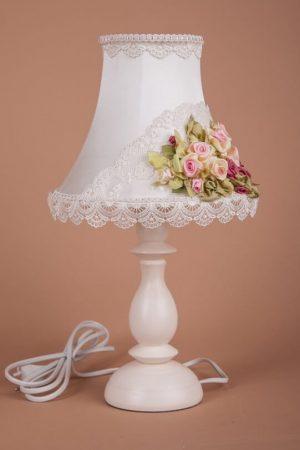 лампа в стиле шебби-шик
