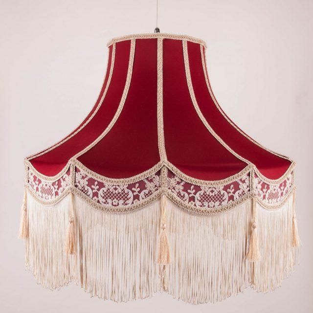 подвесной абажур в классическом стиле