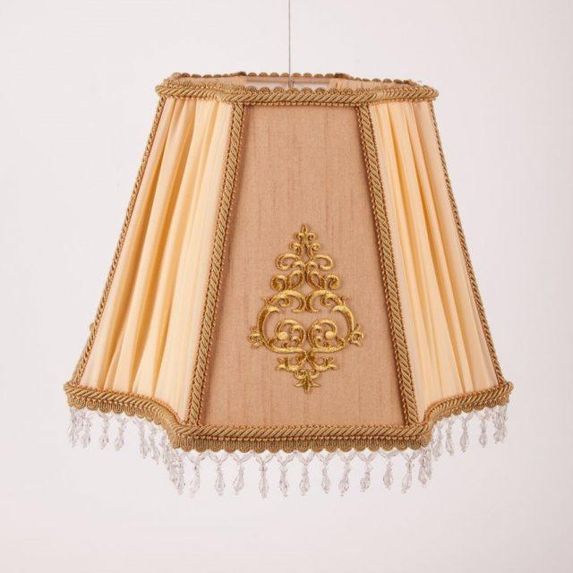красивый абажур для настольной лампы