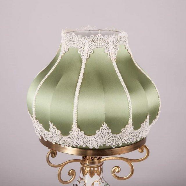 абажур к антикварной лампе
