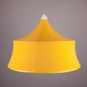"""Абажур """"Колокол"""", желтый габардин (диам. 600 мм)"""