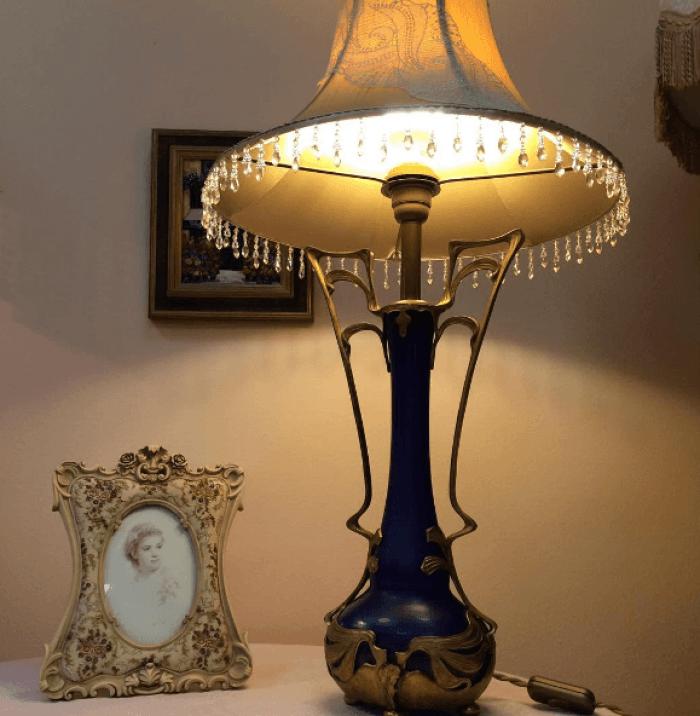абажуры для антикварных ламп