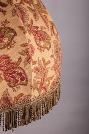 абажур из ткани на каркасе