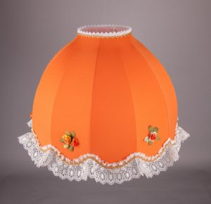 купить оранжевый абажур