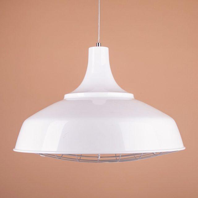 купить светильник белый с решеткой