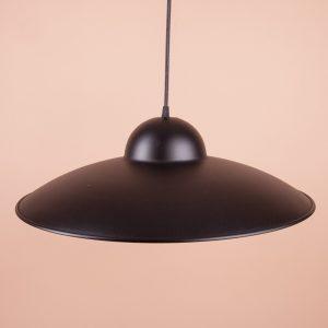 металлический светильник диаметр 500 мм черный