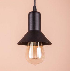 подвесной алюминиевый светильник стиль loft