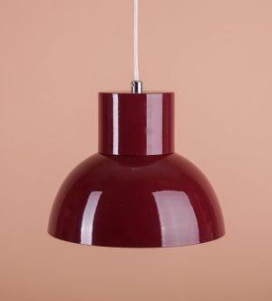 алюминиевый плафон потолочный красный