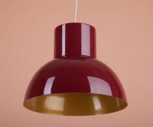яркий светильник из металла ручной работы