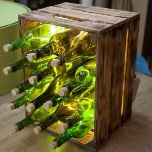 дизайнерский светильник для ресторана винный ящик