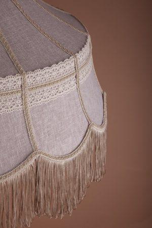 абажур из ткани по образцу советских времен