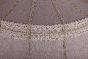 Абажур «Старая Москва» с вышивкой материал лён