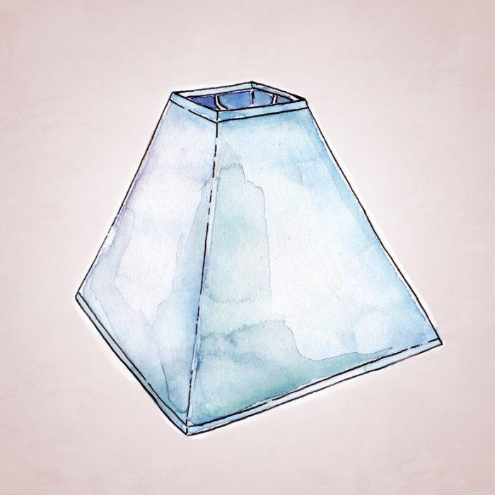 абажур пирамида разные размеры