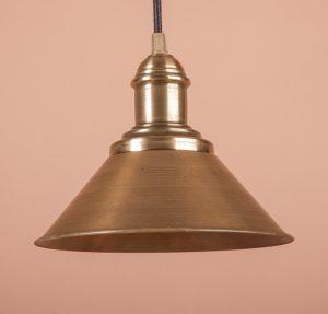 Светильник потолочный декоративный латунь
