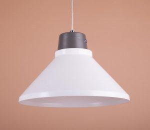 стильный светильник потолочный из алюминий белый