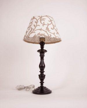 купить лампу с льняным абажуром