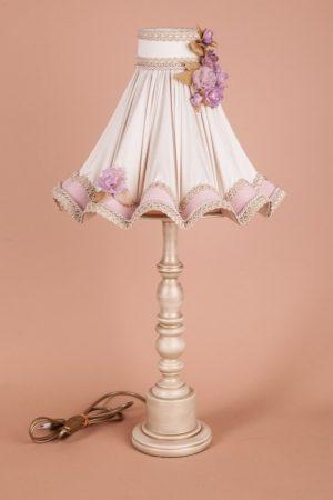 ручное изготовление настольных ламп