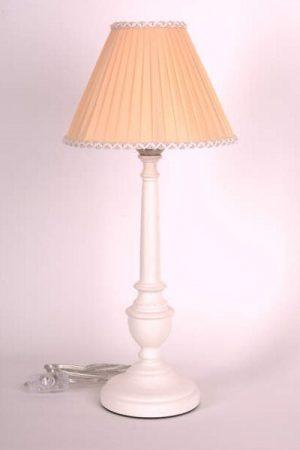 купить настольную лампу с абажуром из ленты намоткой