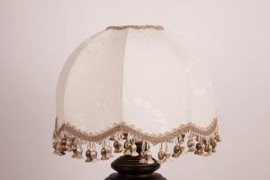 абажур на лампе в стиле ретро