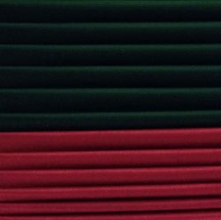 Шелковая лента темно-зеленый, бордо