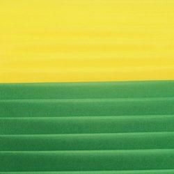 Шелковая лента желтый, свежая зелень