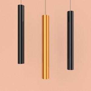 подвесные лофт светильники из металла разных цветов