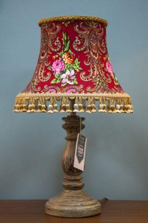 настольная лампа дизайнерская покраска