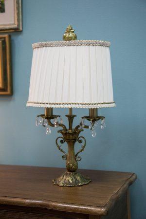 купить винтажную настольную лампу