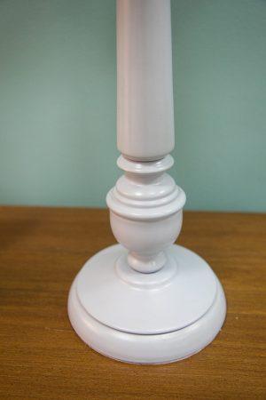 лампа белый глянец