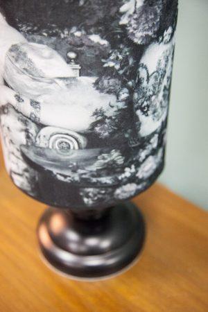 абажур с фотопечатью на ткани