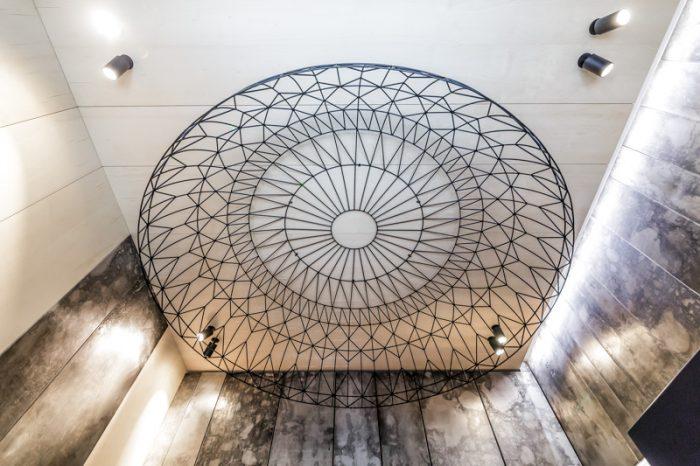 световая конструкция купол из металла