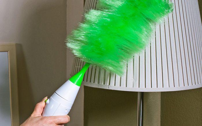 как почистить абажур в домашних условиях