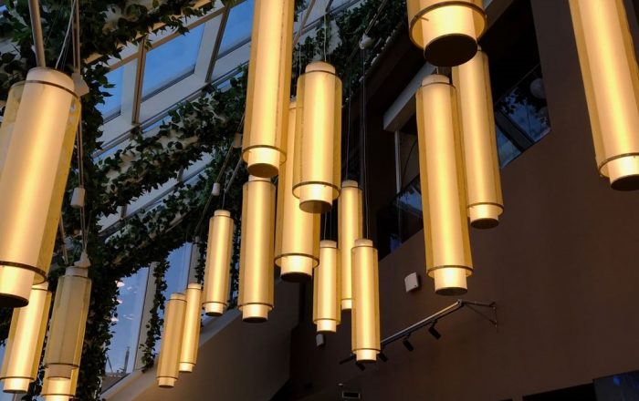 световые конструкции для офисных пространств