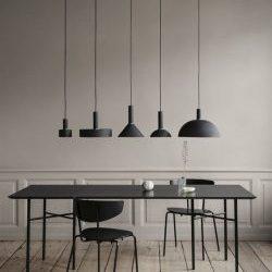 галерея примеров использования светильников в loft интерьерах