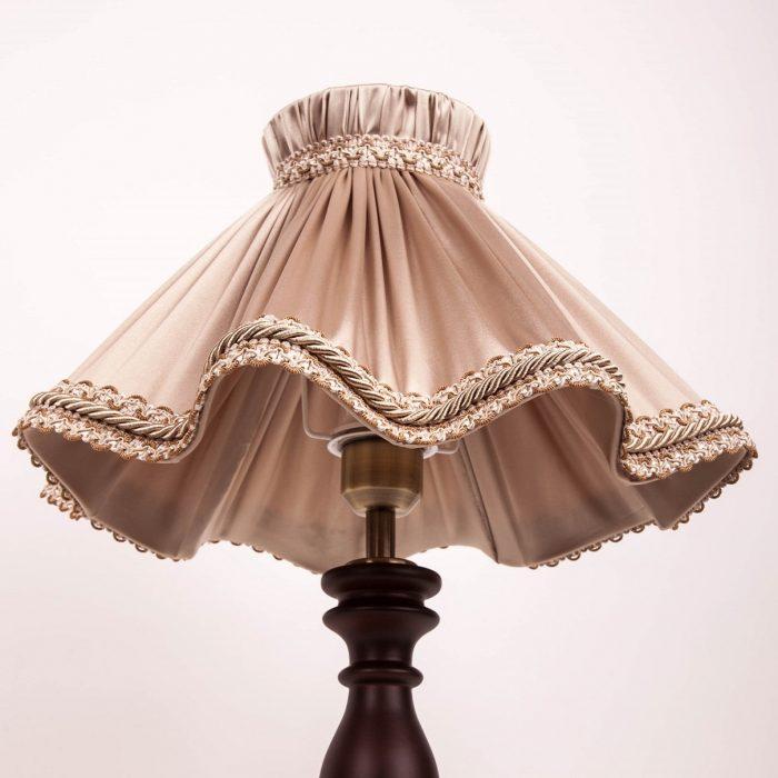 абажур французская юбка для настольной лампы