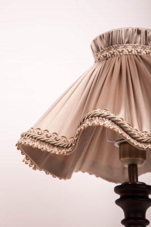 абажур волна для настольной лампы