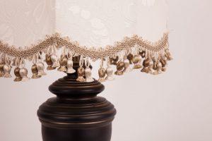 белый абажур для лампы