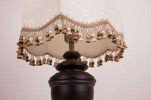 ретеро абажур на лампу