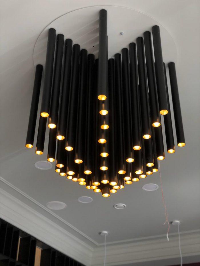 свет в стиле loft для интерьера кафе ресторана