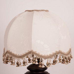абажур в стиле ретро для настольной лампы