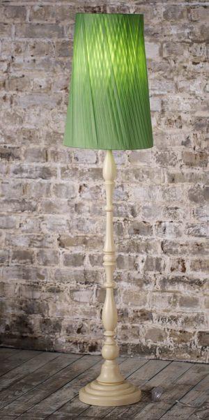 купить торшер с зеленым абажуром